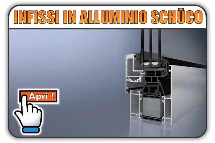 Serramenti in Alluminio Schuco Torino