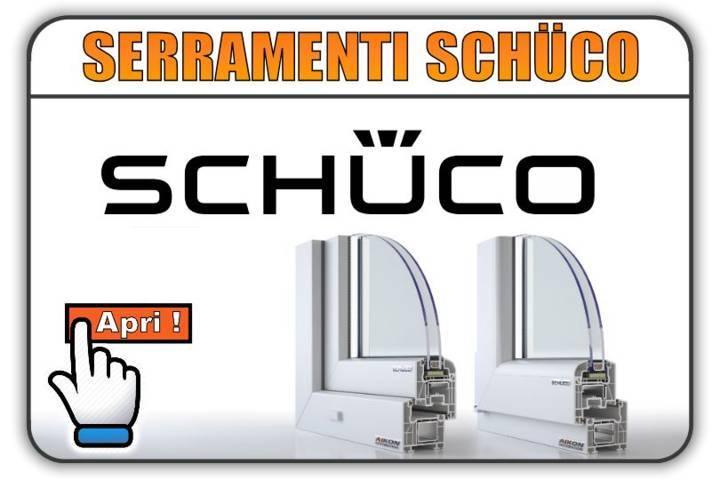 Serramenti in alluminio schuco prezzi for Serramenti pvc torino prezzi