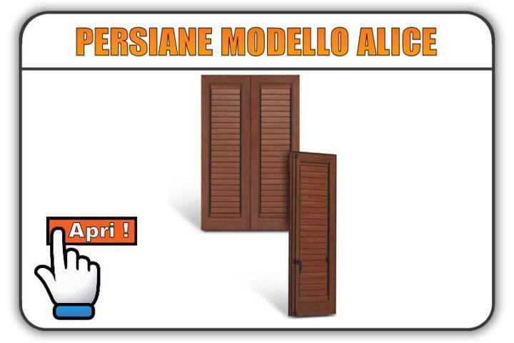 Persiane modello Alice Torino