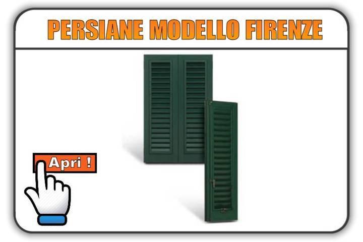 Persiane modello Firenze Torino