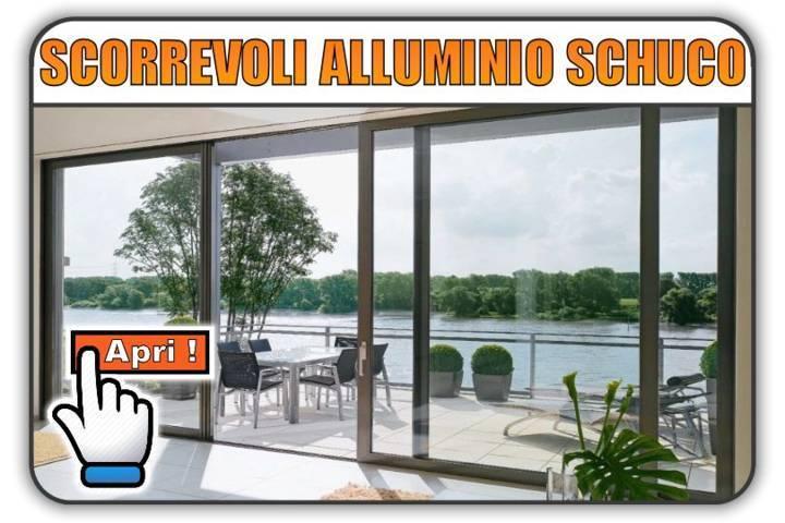 Scorrevoli in Alluminio Schuco Torino