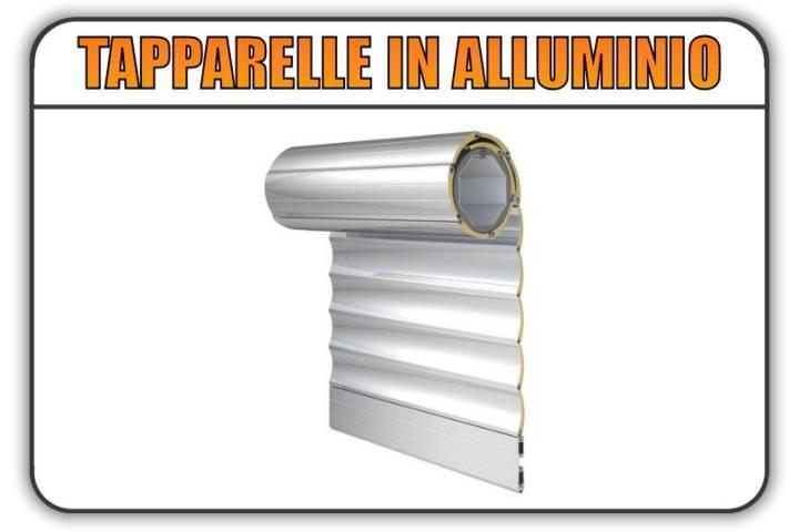 tapparelle in alluminio coibentato La Loggia