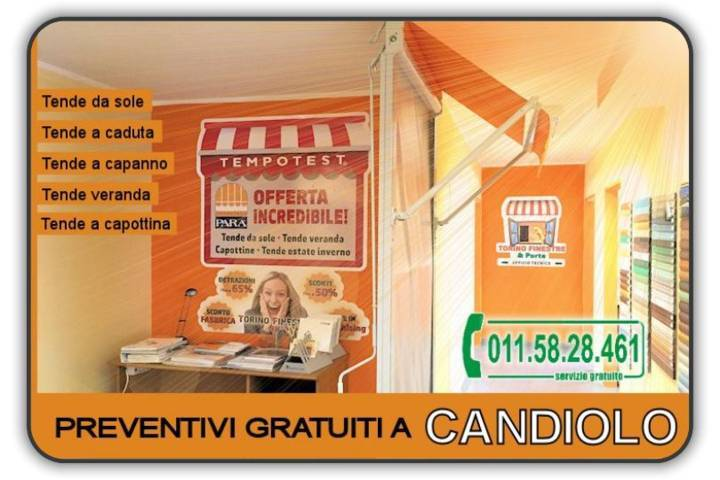 Prezzi tenda Candiolo
