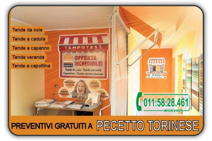 Prezzi tenda Pecetto Torinese