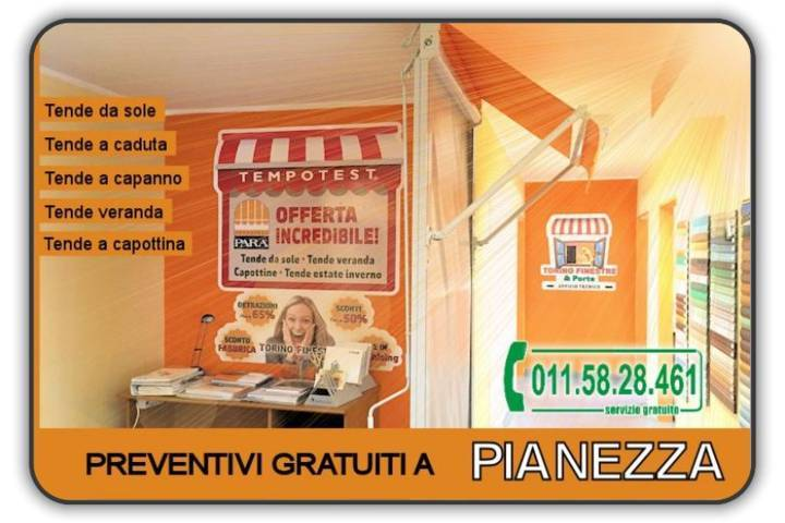 Prezzi tenda Pianezza