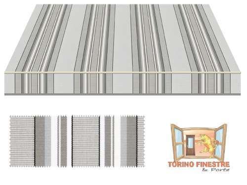 Tela Per Tende Da Esterno.Tessuti Tempotest In Acrilico Grigi Tende Da Sole Torino